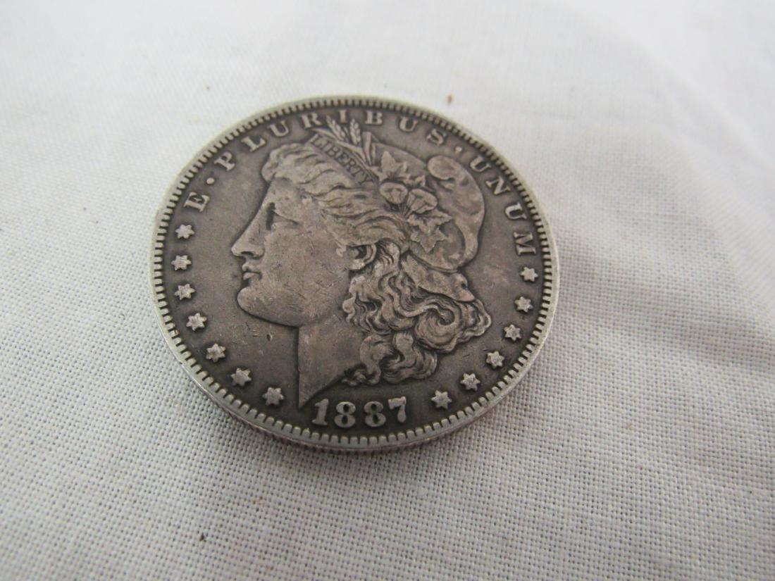 1887 Morgan O Dollar