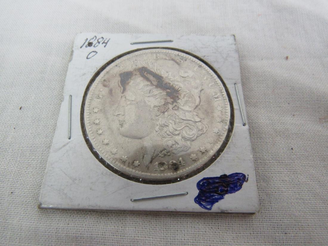 1884 Morgan O Dollar