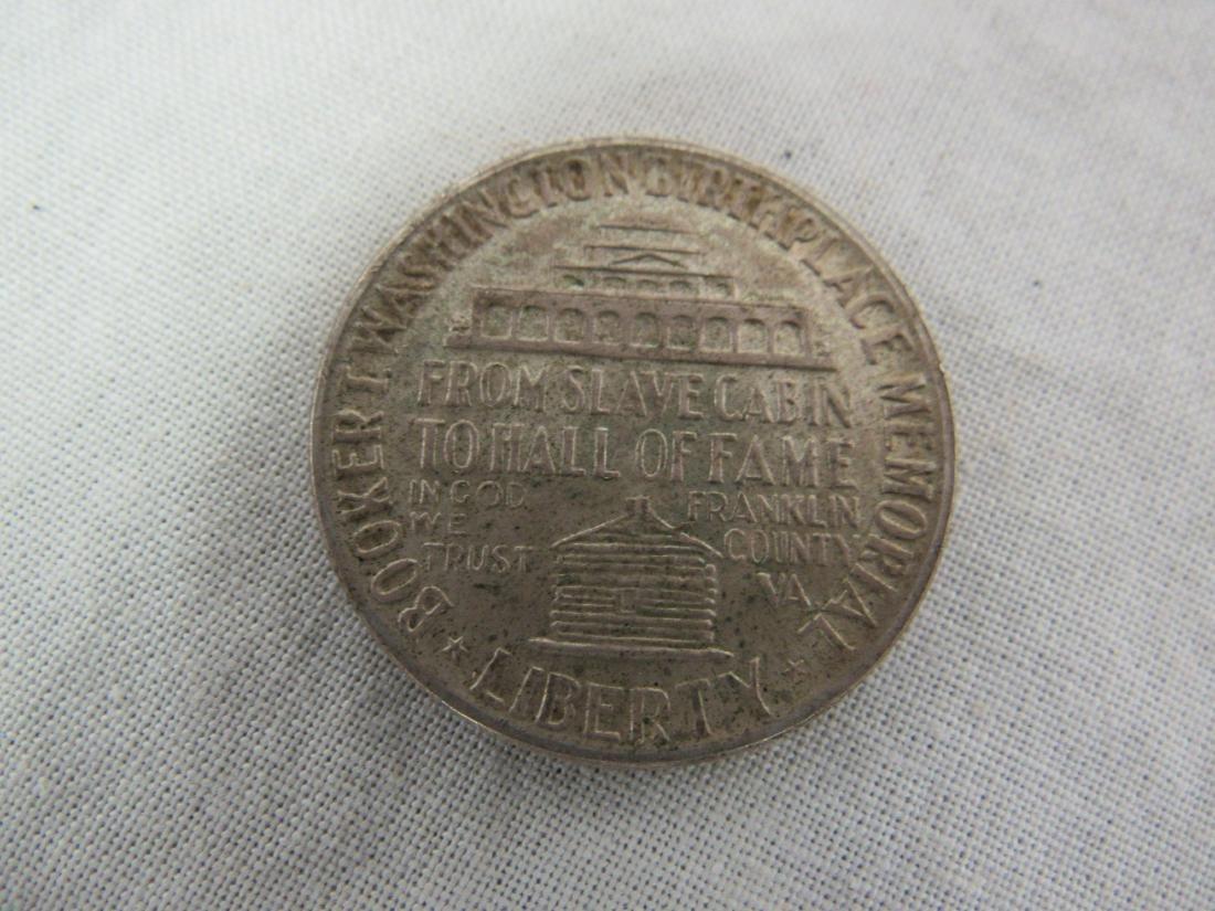 1946 Booker T Washington Half Dollar - 2