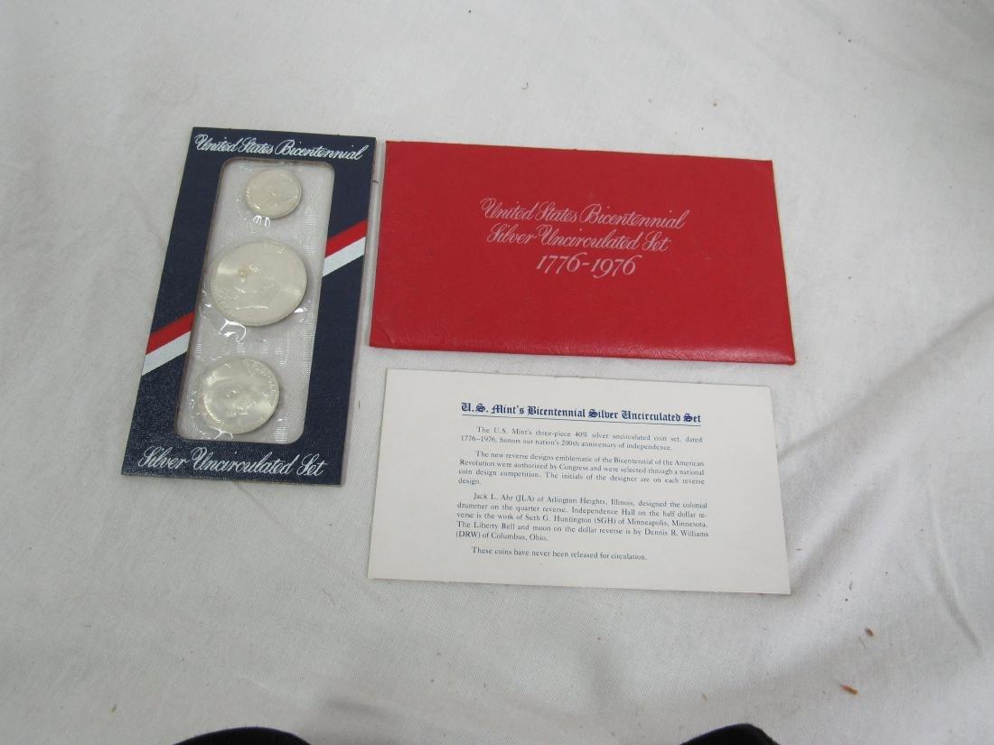 1976 US Bicentennial Silver Set