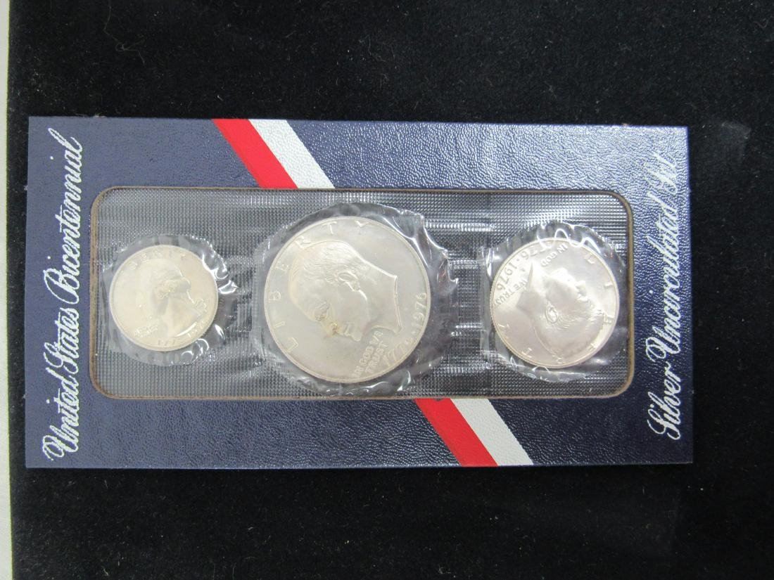 1976 US Bicentennial Silver Set - 2