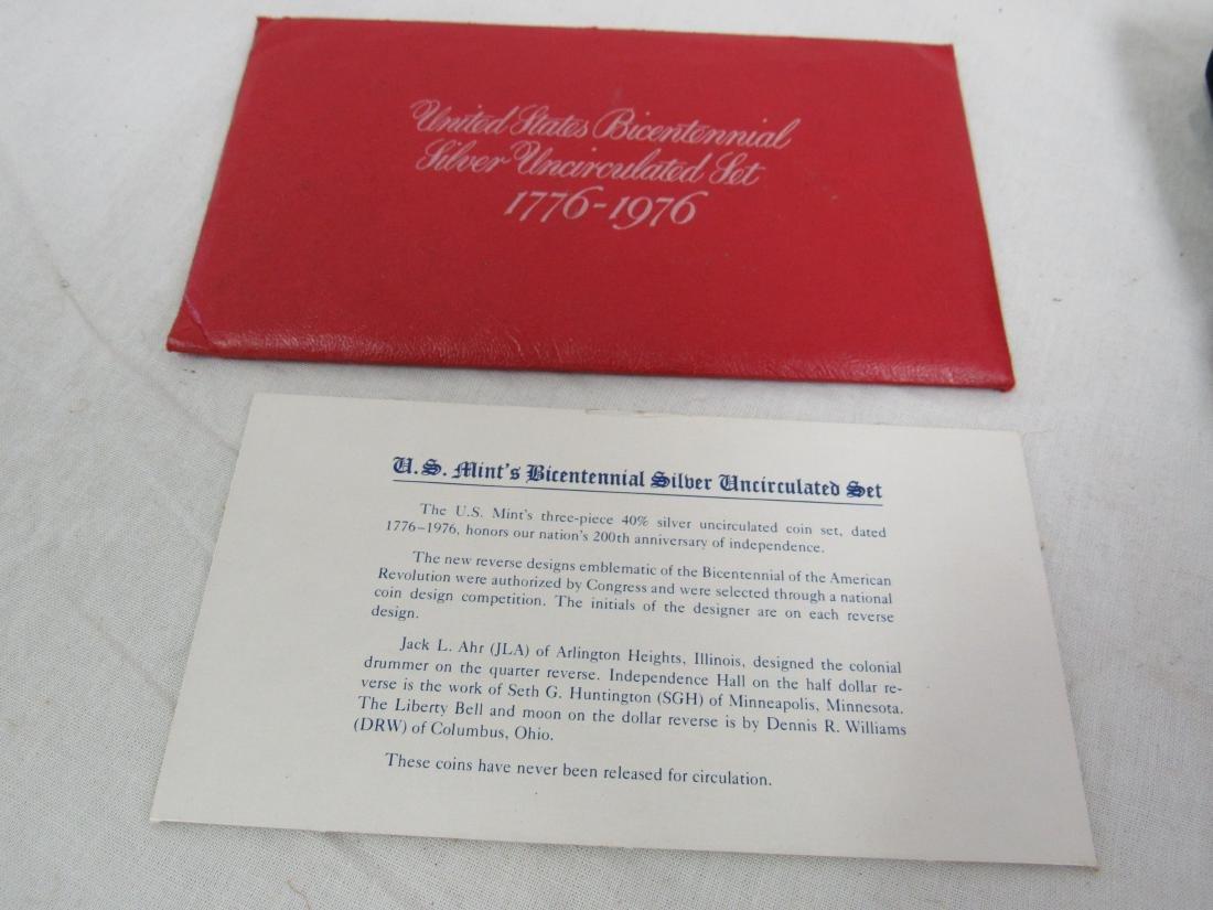 1976 US Bicentennial Silver Set - 3