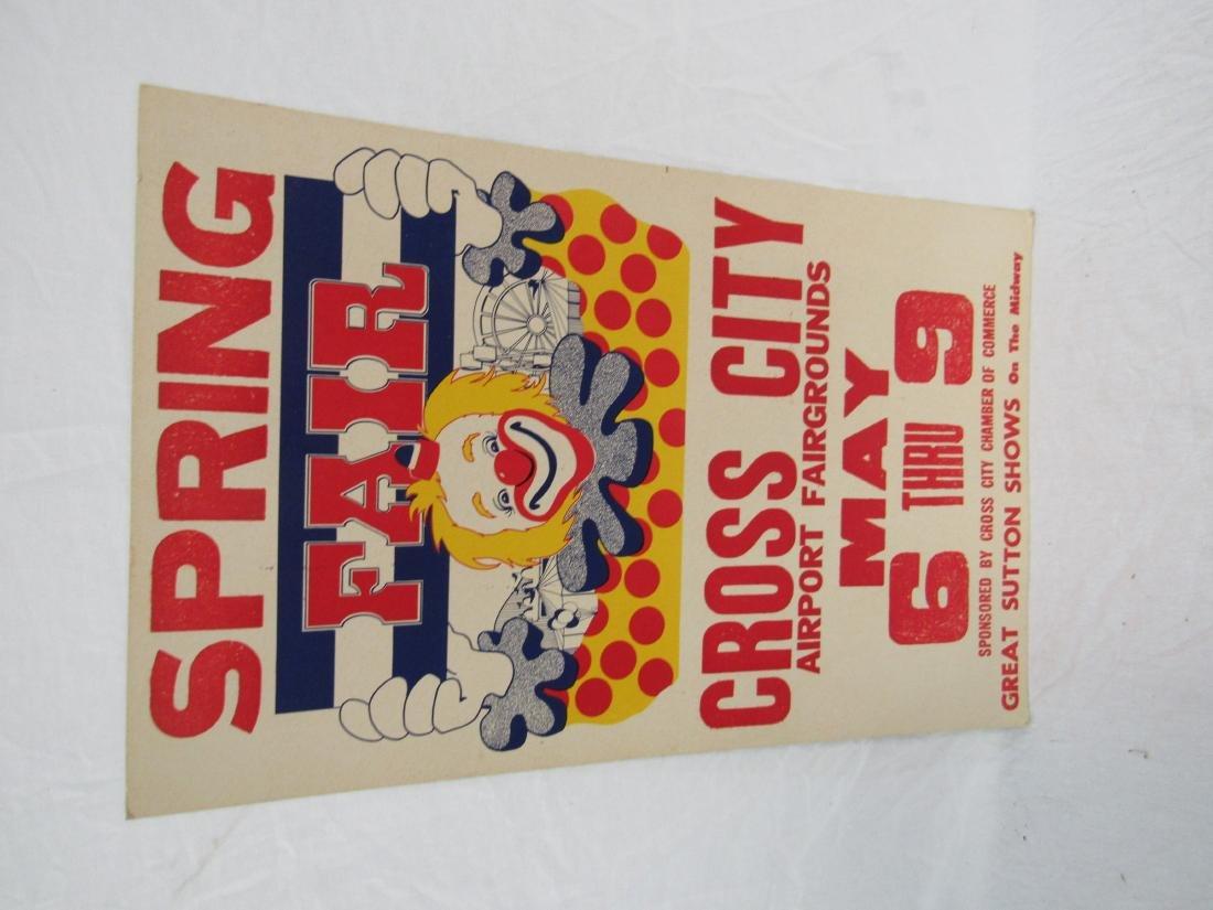 Cross City Spring Fair Poster