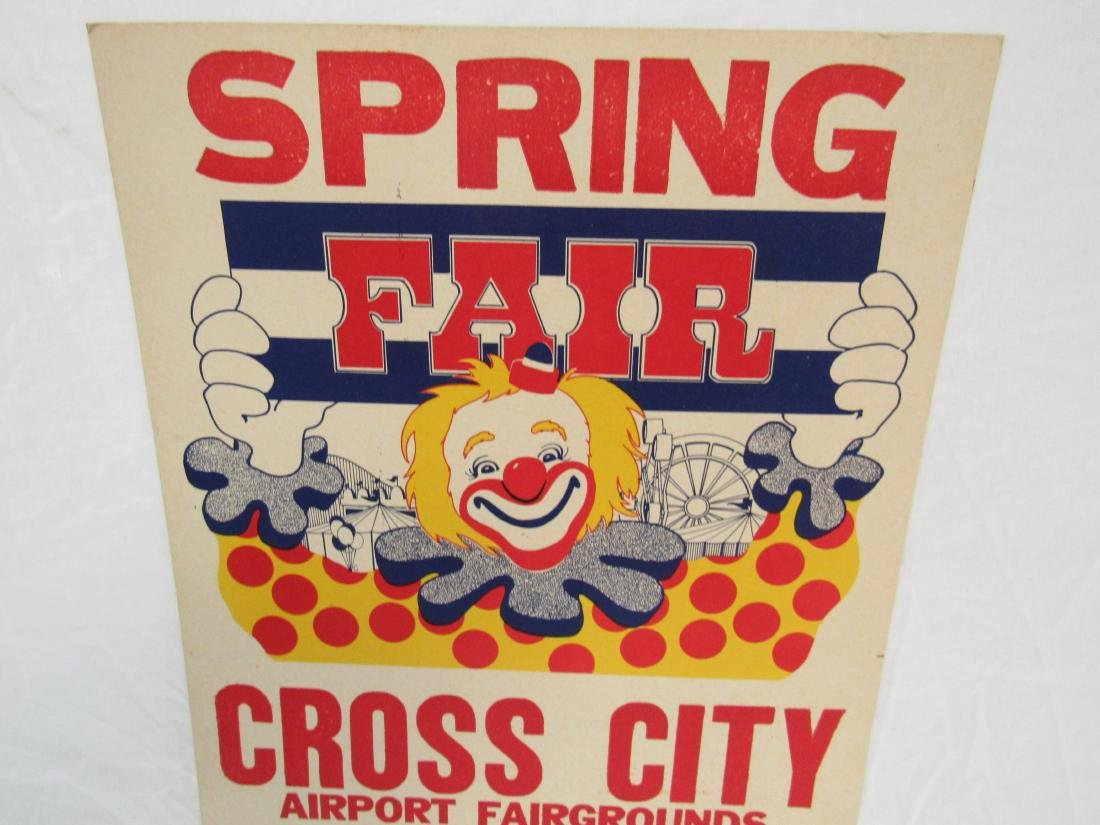 Cross City Spring Fair Poster - 2