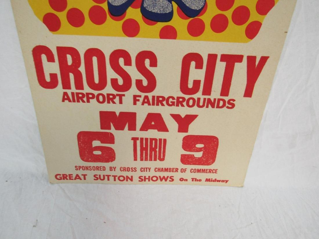 Cross City Spring Fair Poster - 3