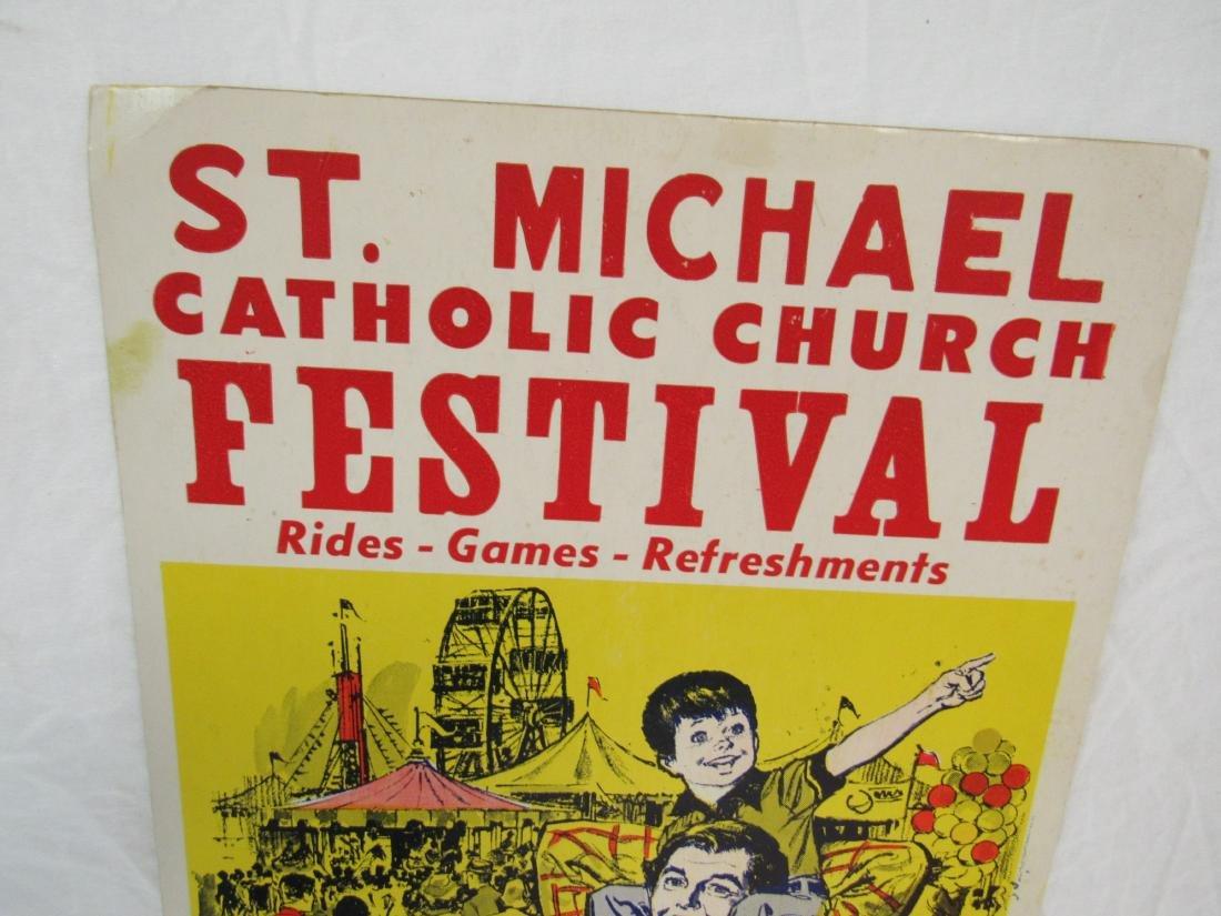 St. Michael Catholic Church Festival Poster - 2