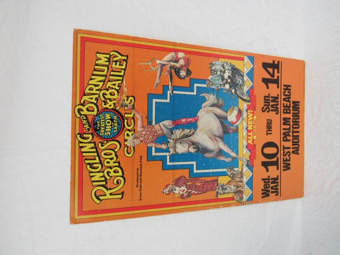 1979 Ringling Bros and Barnum and Bailey Circus Poster