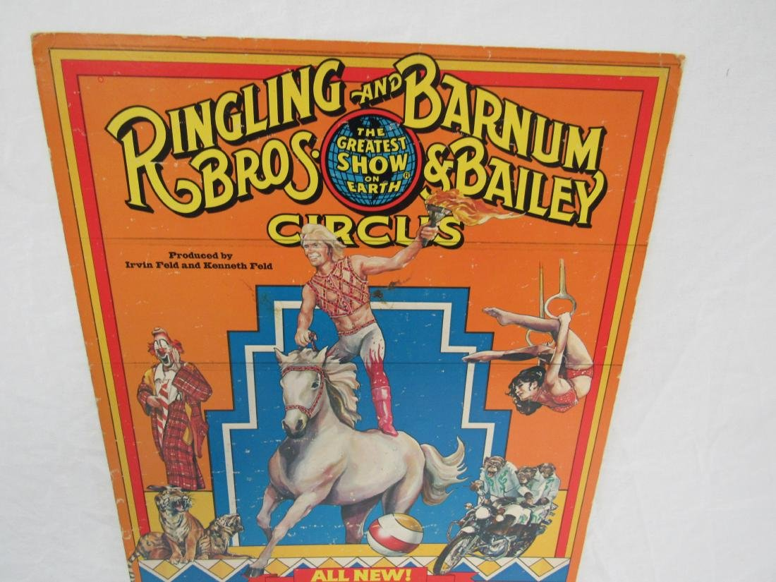 1979 Ringling Bros and Barnum and Bailey Circus Poster - 2