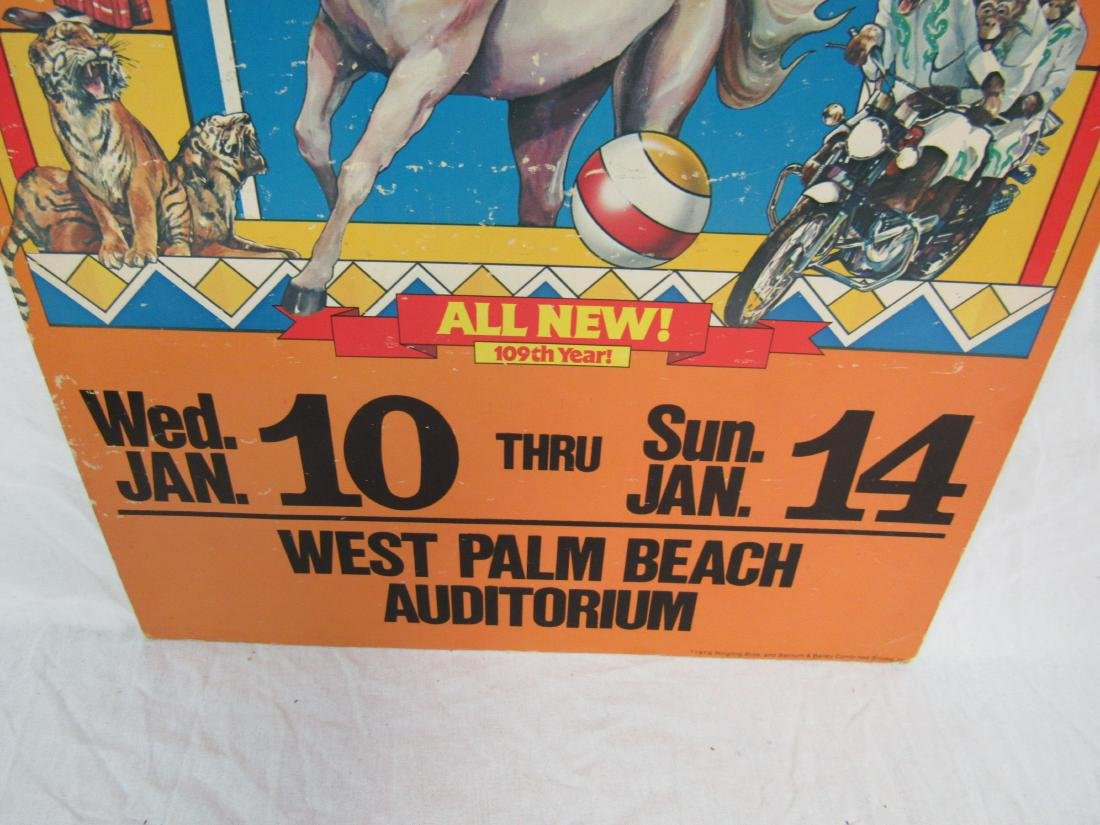 1979 Ringling Bros and Barnum and Bailey Circus Poster - 3
