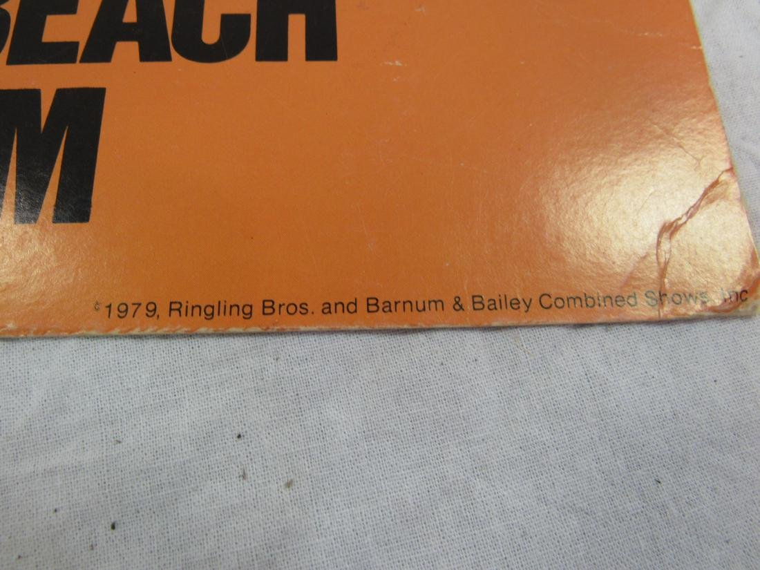 1979 Ringling Bros and Barnum and Bailey Circus Poster - 4