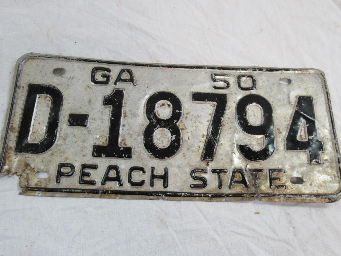 Lot of 2 Vintage Georgia Tags - 2