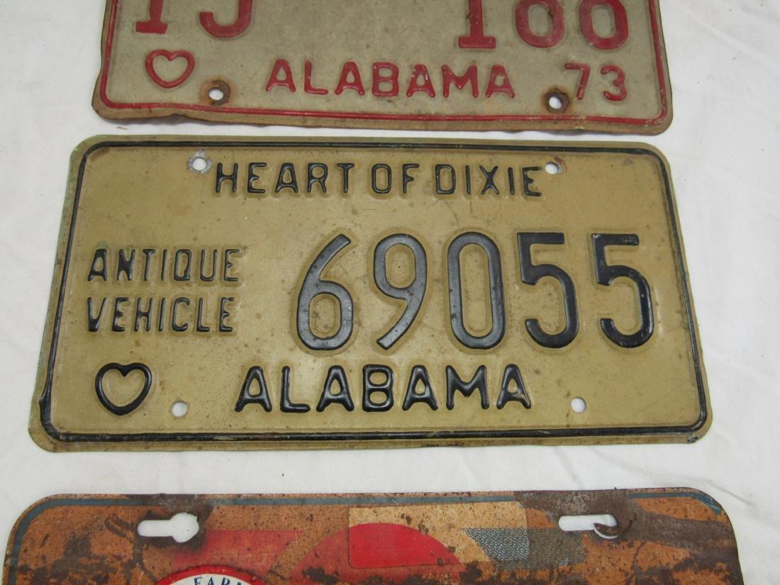 Lot of 3 Vintage Car tags - 3