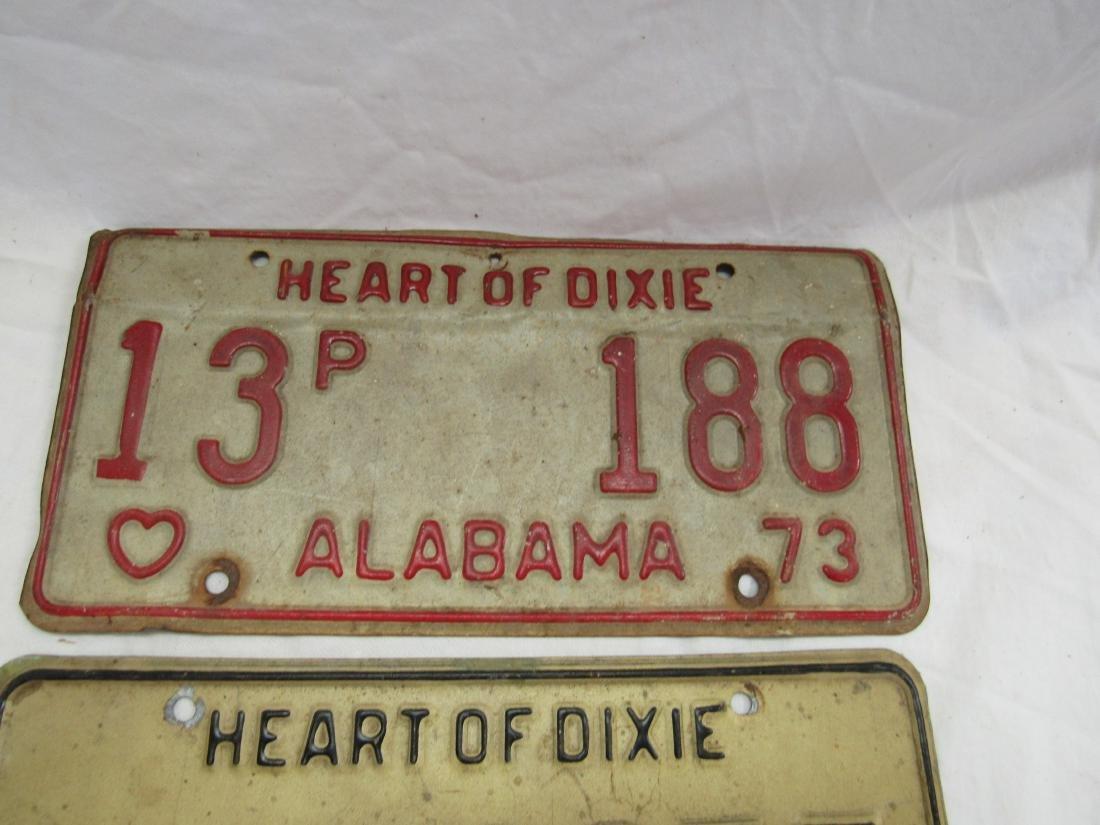 Lot of 3 Vintage Car tags - 4