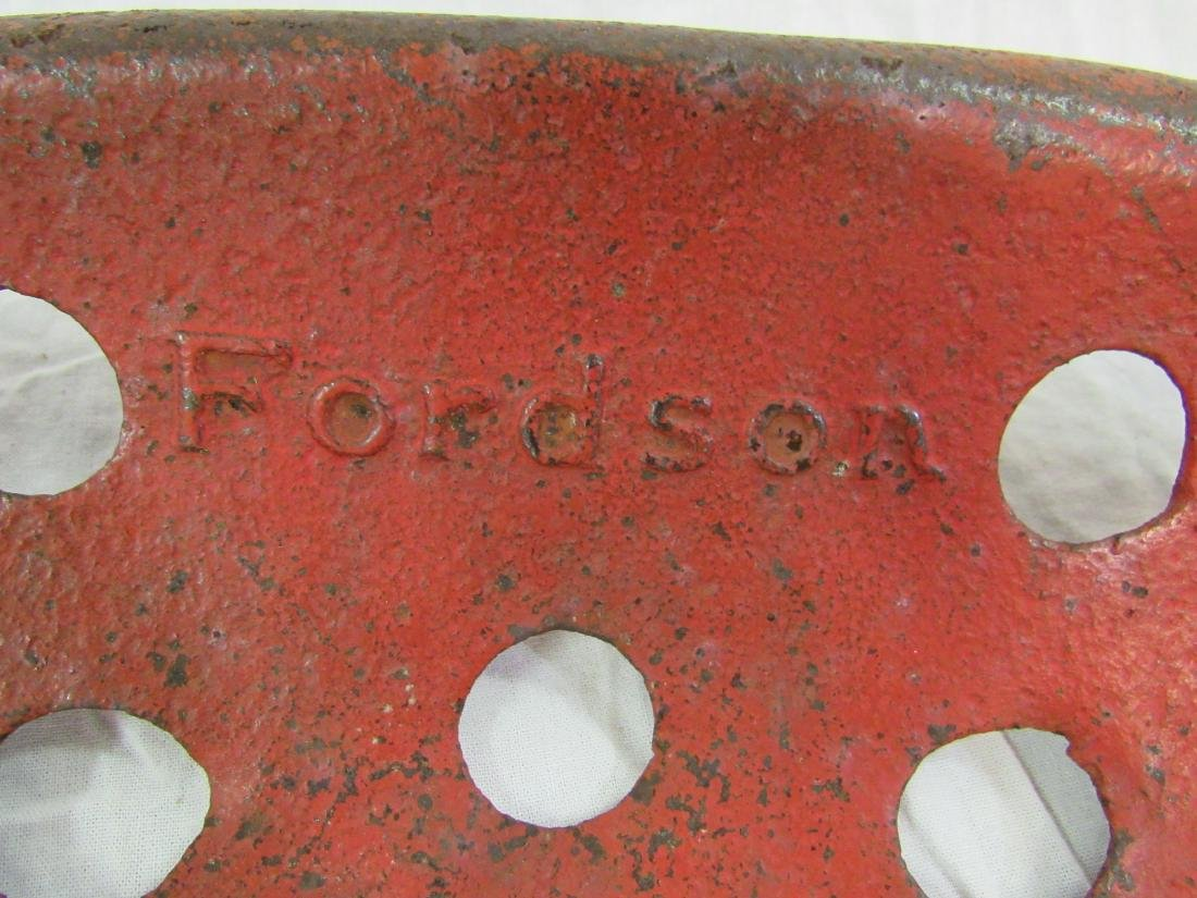 Antique Fordson Tractor Seat - 2