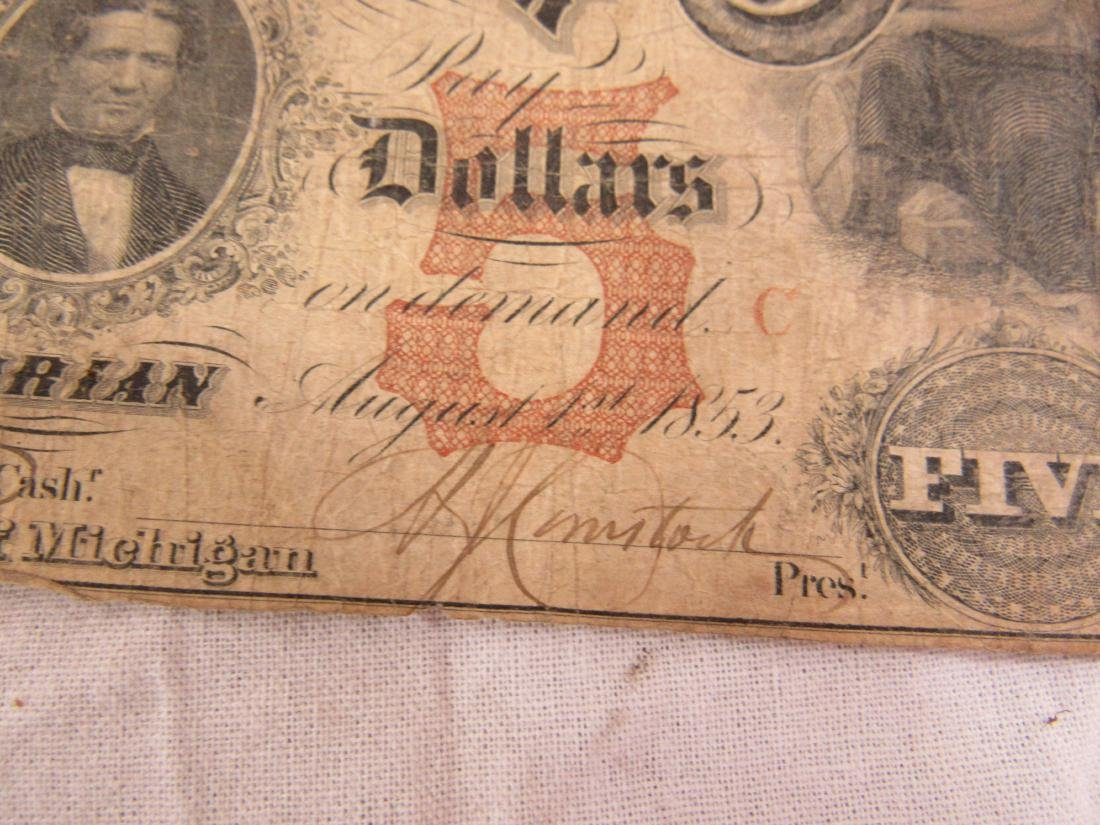 1853 The Erie and Kalamizoo Railroad Note - 2