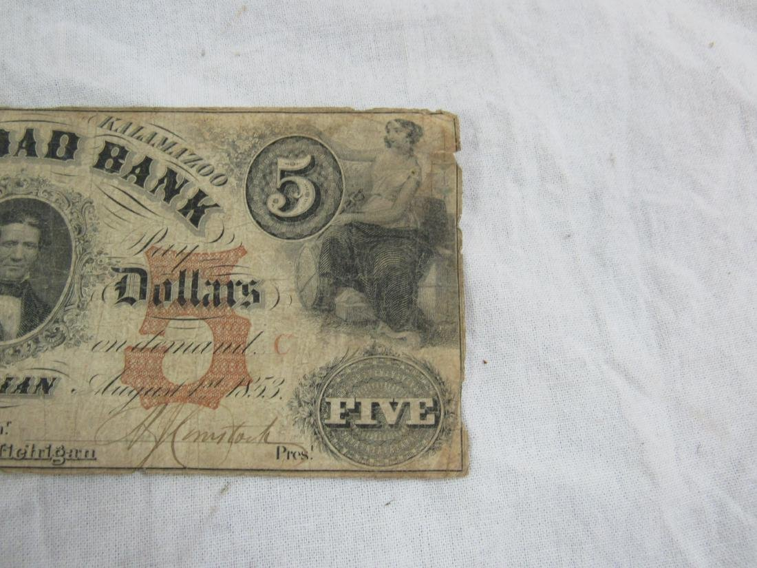 1853 The Erie and Kalamizoo Railroad Note - 3