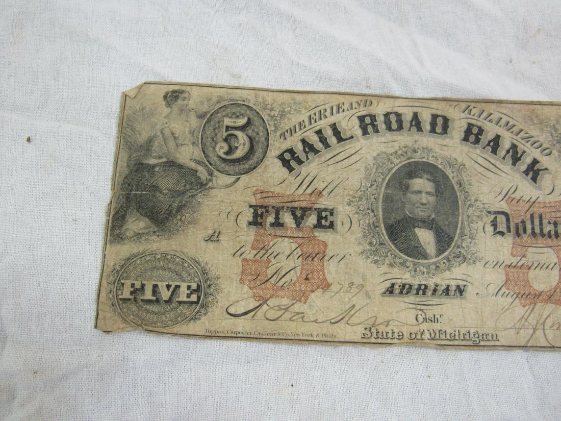 1853 The Erie and Kalamizoo Railroad Note - 4