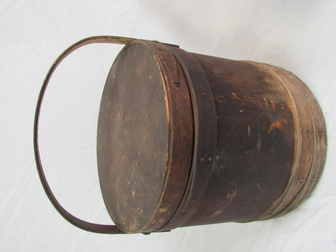 Early Antique Firkin Bucket