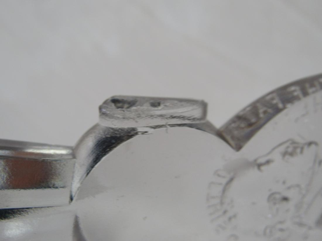 George Washington 1893 Worlds Fair Glass Ax - 7