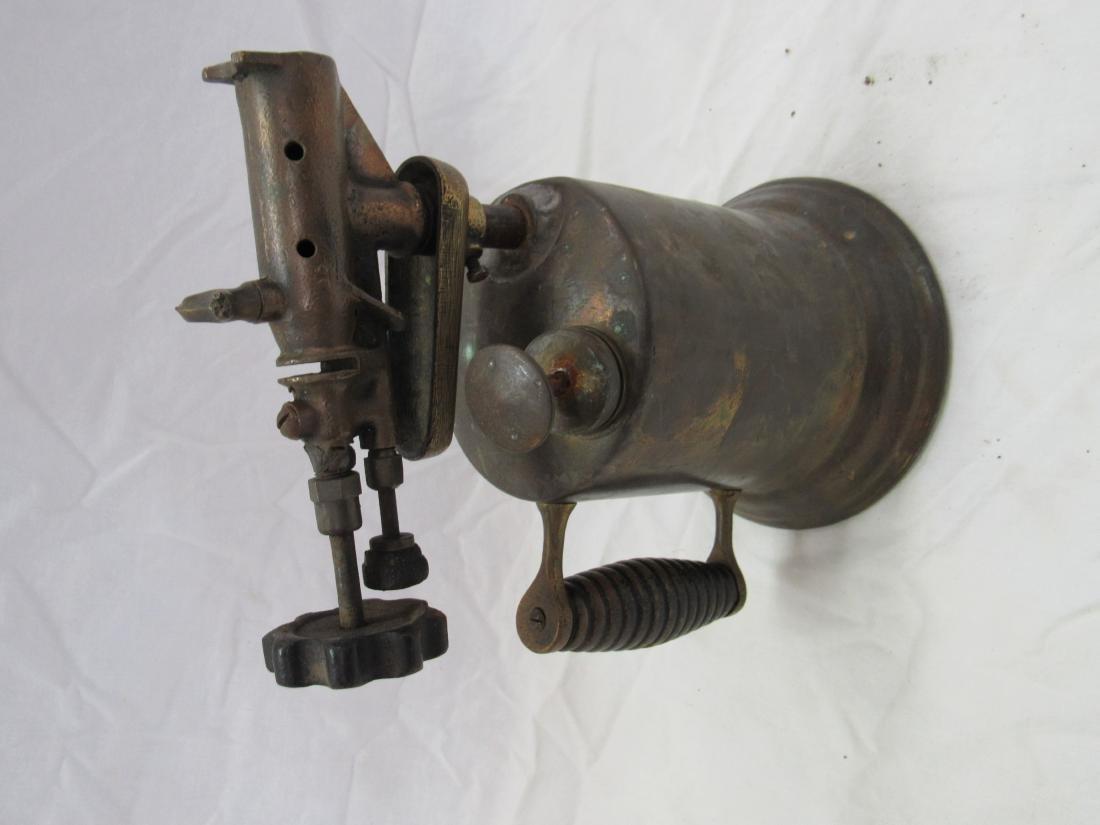 Antique Brass Torch
