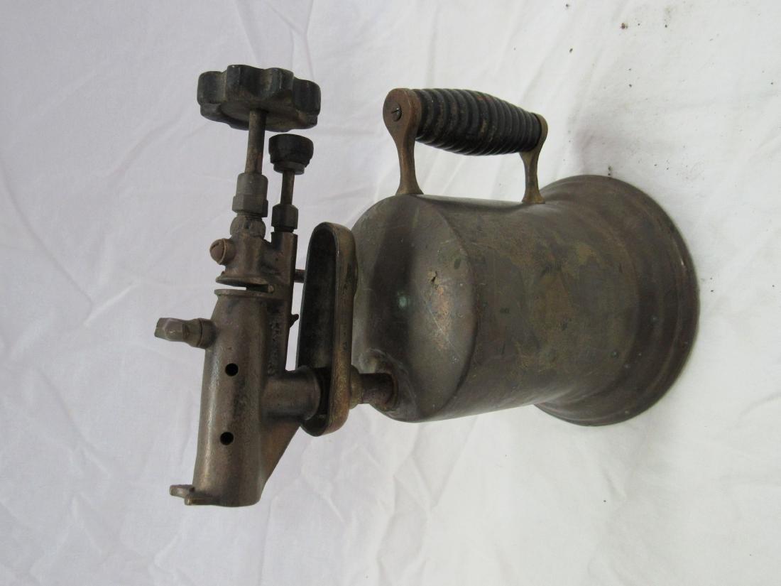 Antique Brass Torch - 2