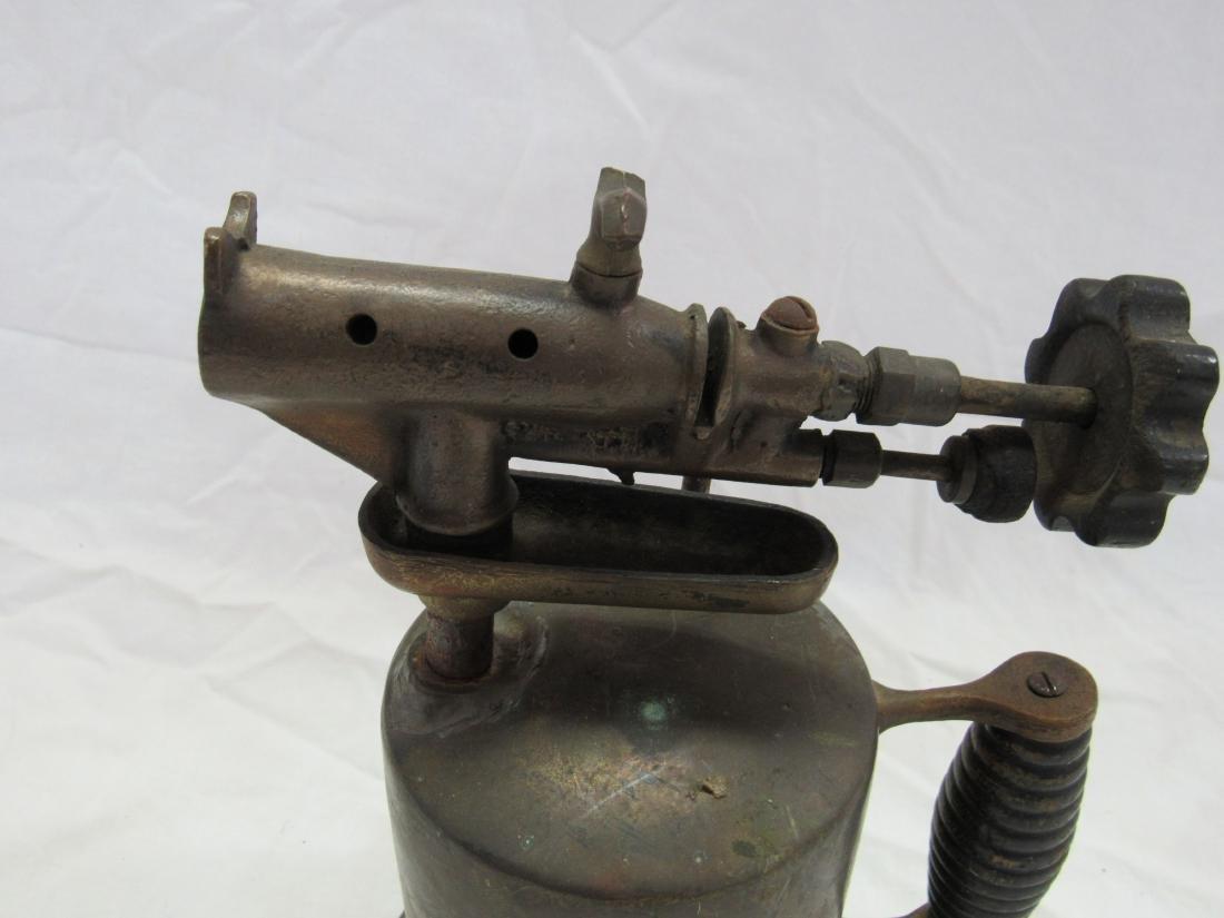 Antique Brass Torch - 3