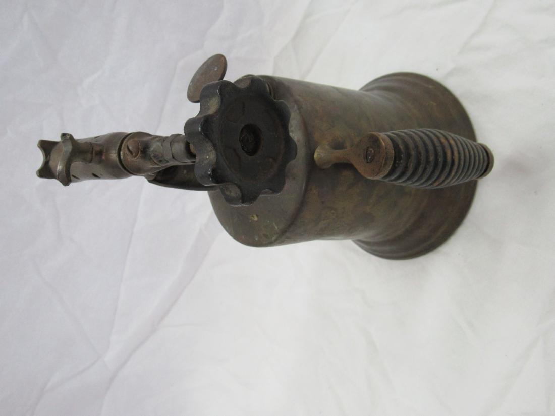 Antique Brass Torch - 4