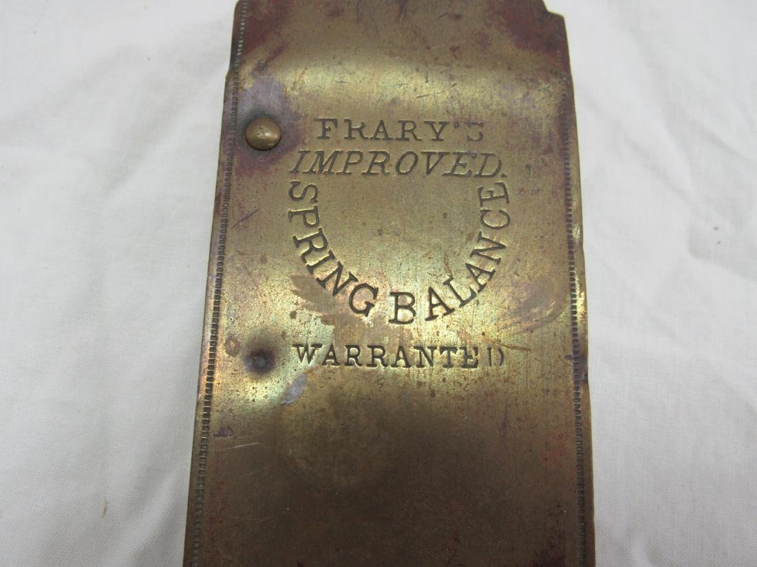 Antique Frary's Brass Scale - 2