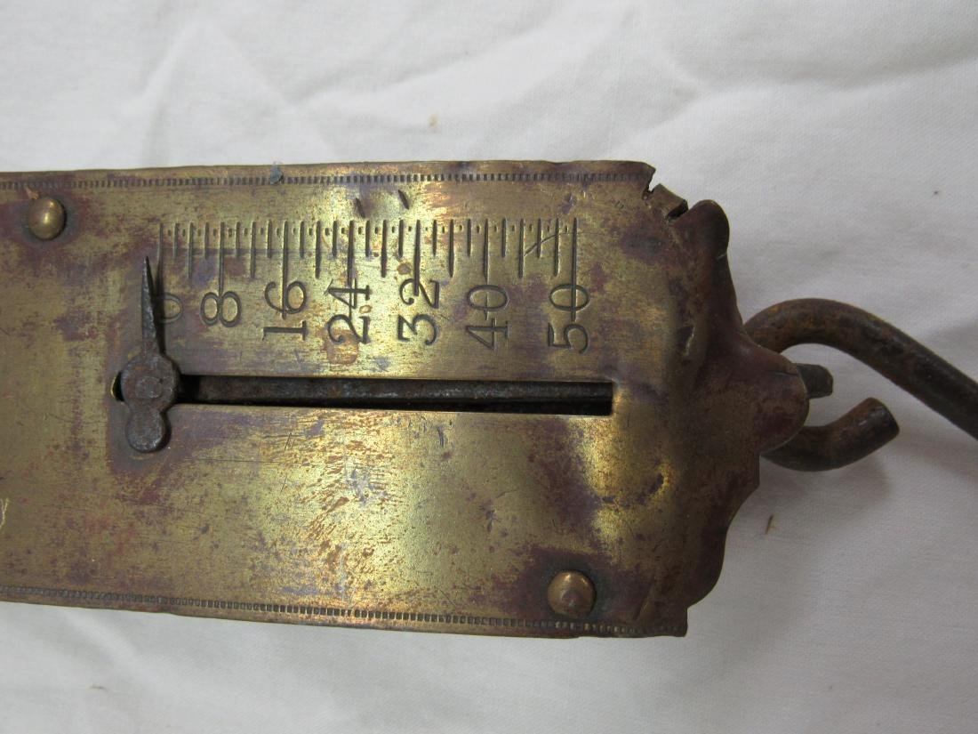 Antique Frary's Brass Scale - 3