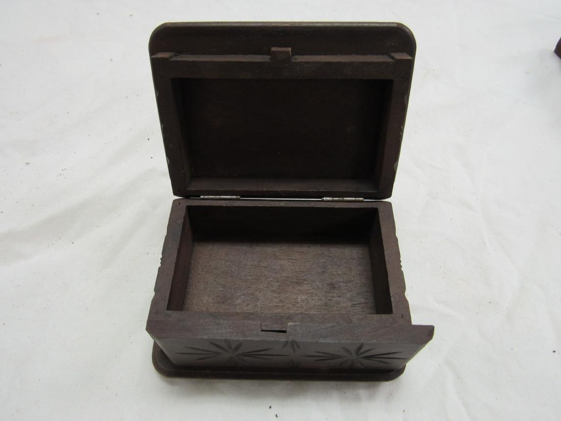 Hand-carved Rhonegletscher German Box - 5