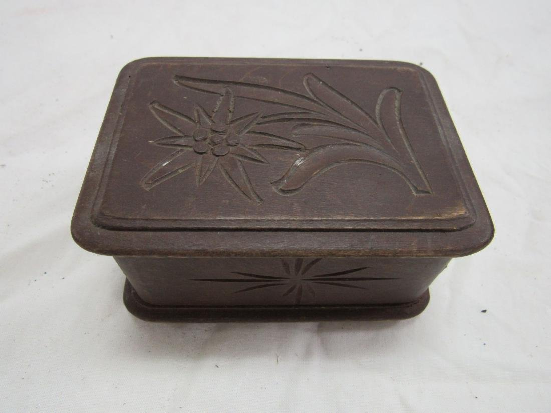 Hand-carved German Box