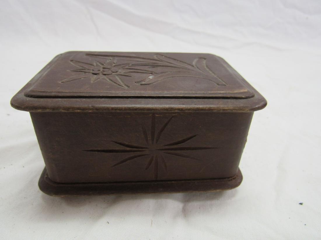 Hand-carved German Box - 2