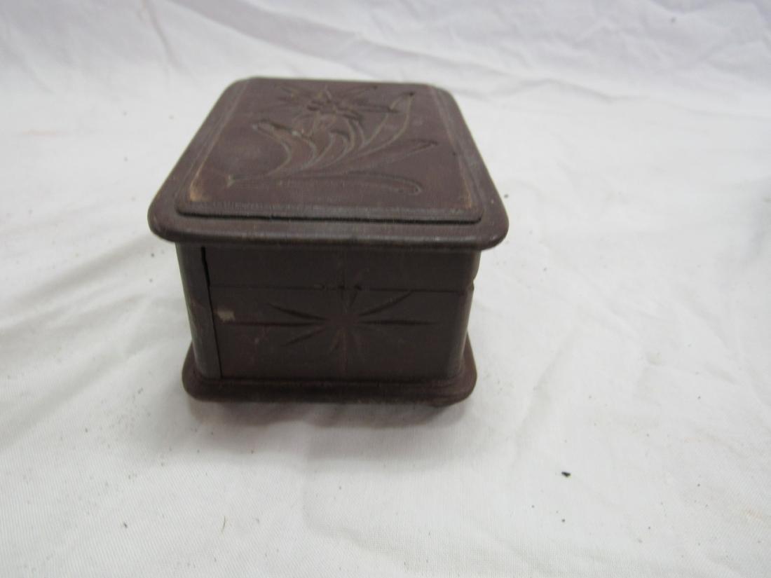 Hand-carved German Box - 3