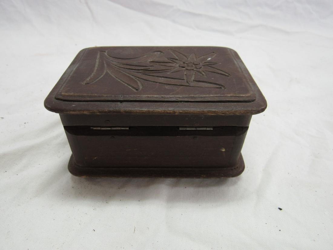 Hand-carved German Box - 4