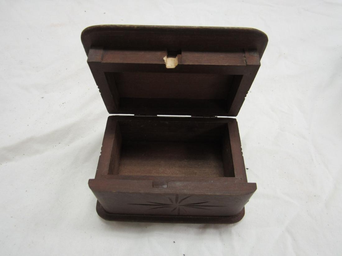 Hand-carved German Box - 5