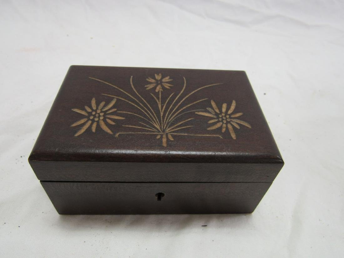 Hand-carved German Box
