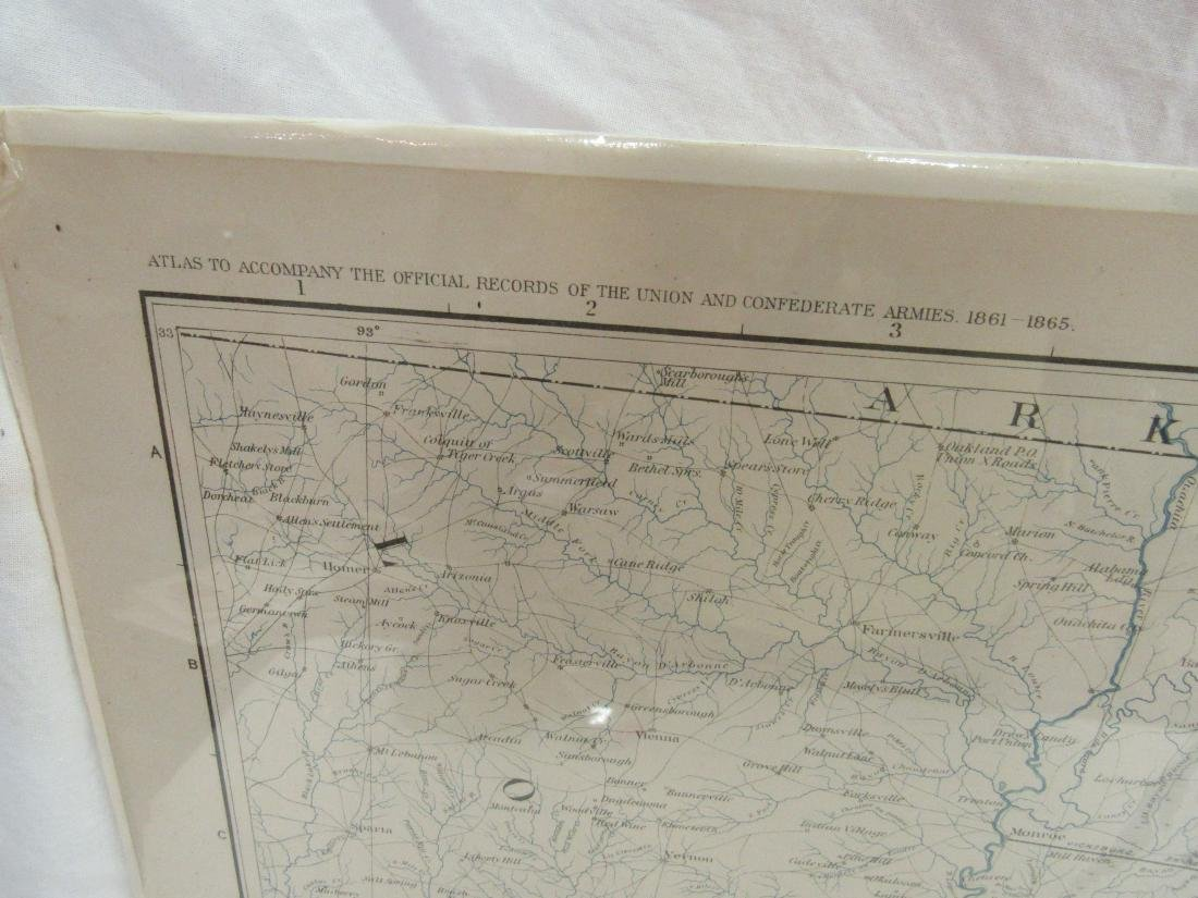 1891 Map of Mississippi by Julius & Bein Co - 3