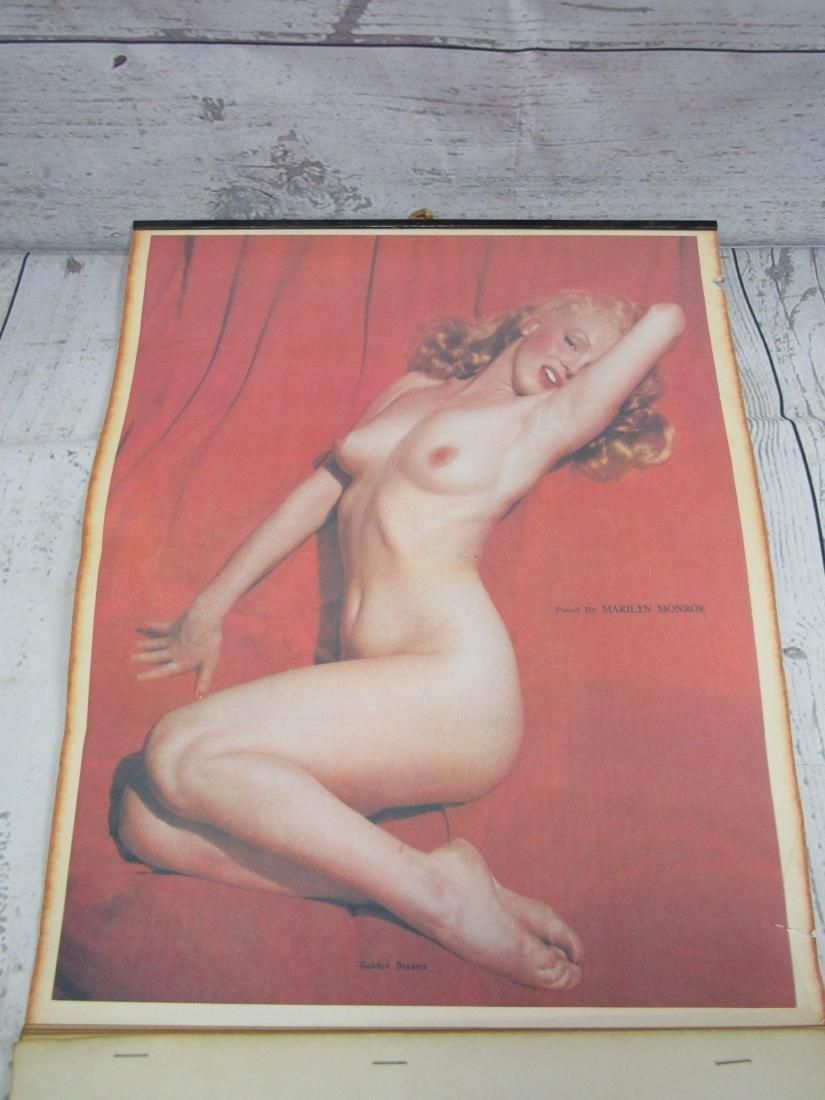 1955 Vintage Reproductin Marilyn Monroe Calendar - 2