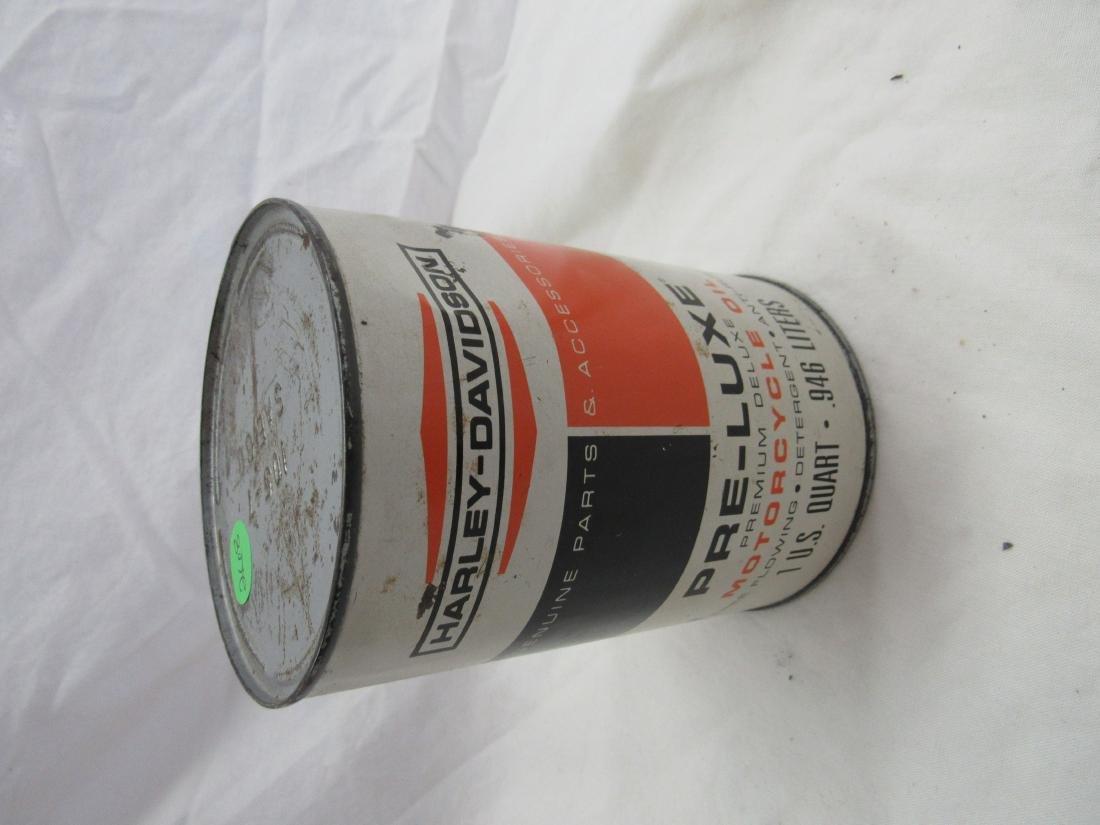 Vintage NOS Harley-Davidson Pre-Luxe 1 Quart Oil Can
