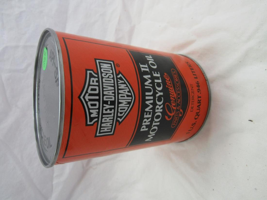 Vintage Harley-Davidson Premium II 1 Quart Oil Can