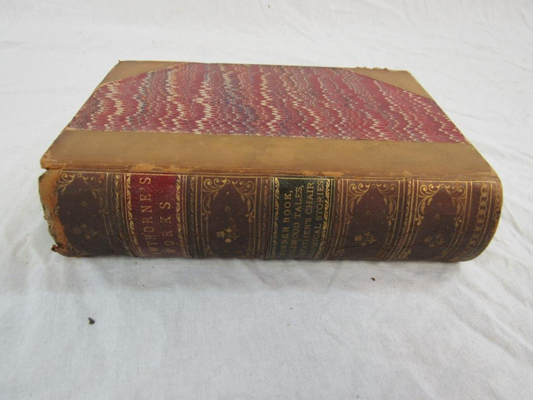 Antique Book Titled, Hawthorne's Works