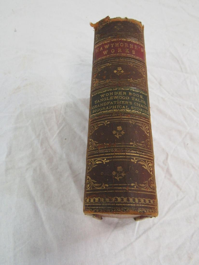 Antique Book Titled, Hawthorne's Works - 2