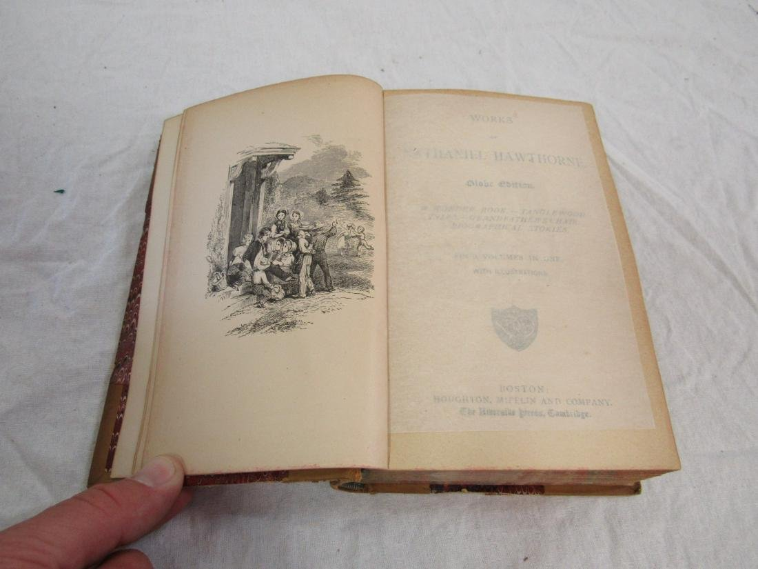 Antique Book Titled, Hawthorne's Works - 4