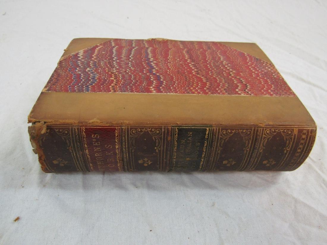 Antique Book Titled, Hawthorne's Works