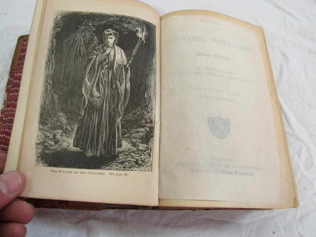Antique Book Titled, Hawthorne's Works - 3