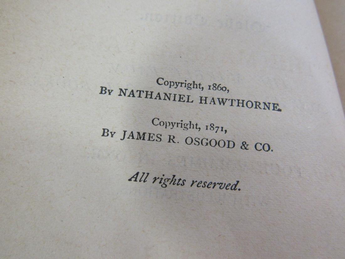 Antique Book Titled, Hawthorne's Works - 4