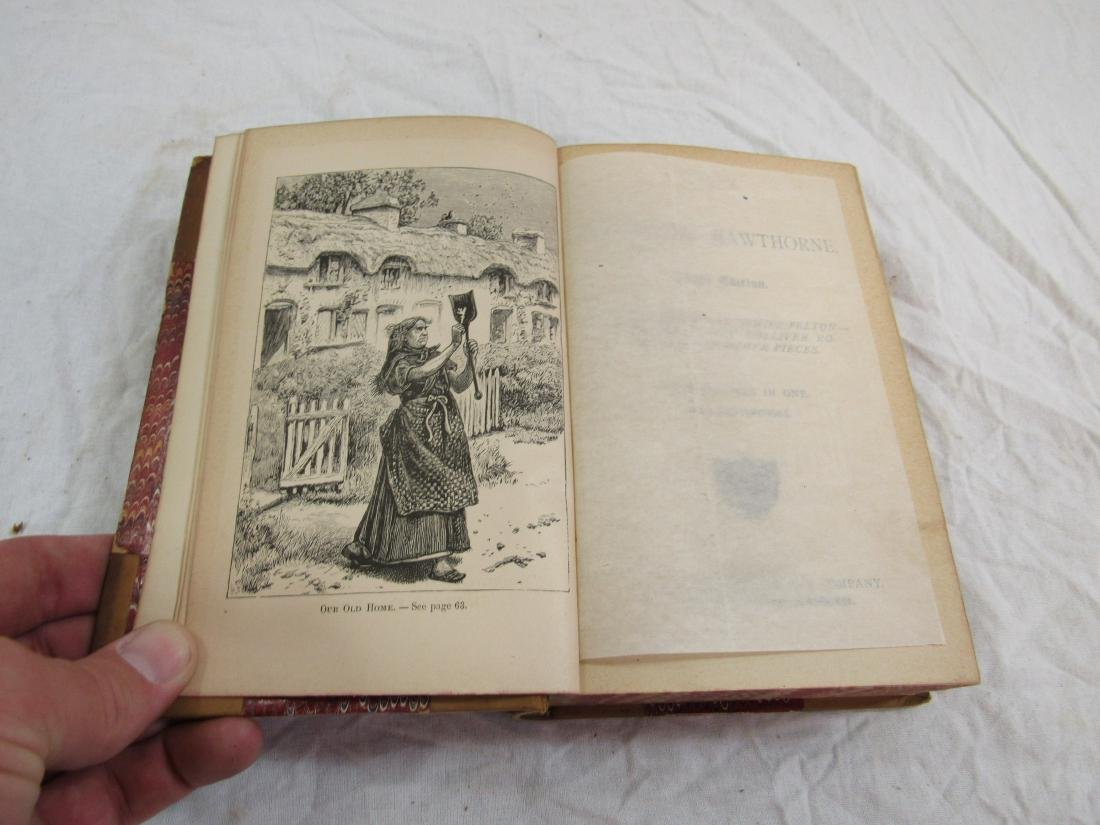 Antique Book Titled, Hawthorne's Works - 3