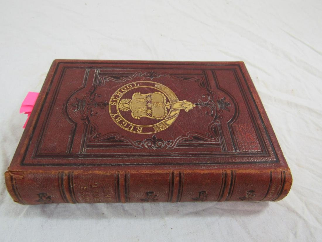Antique Book Titled, Scott's Poetical Works of Sir