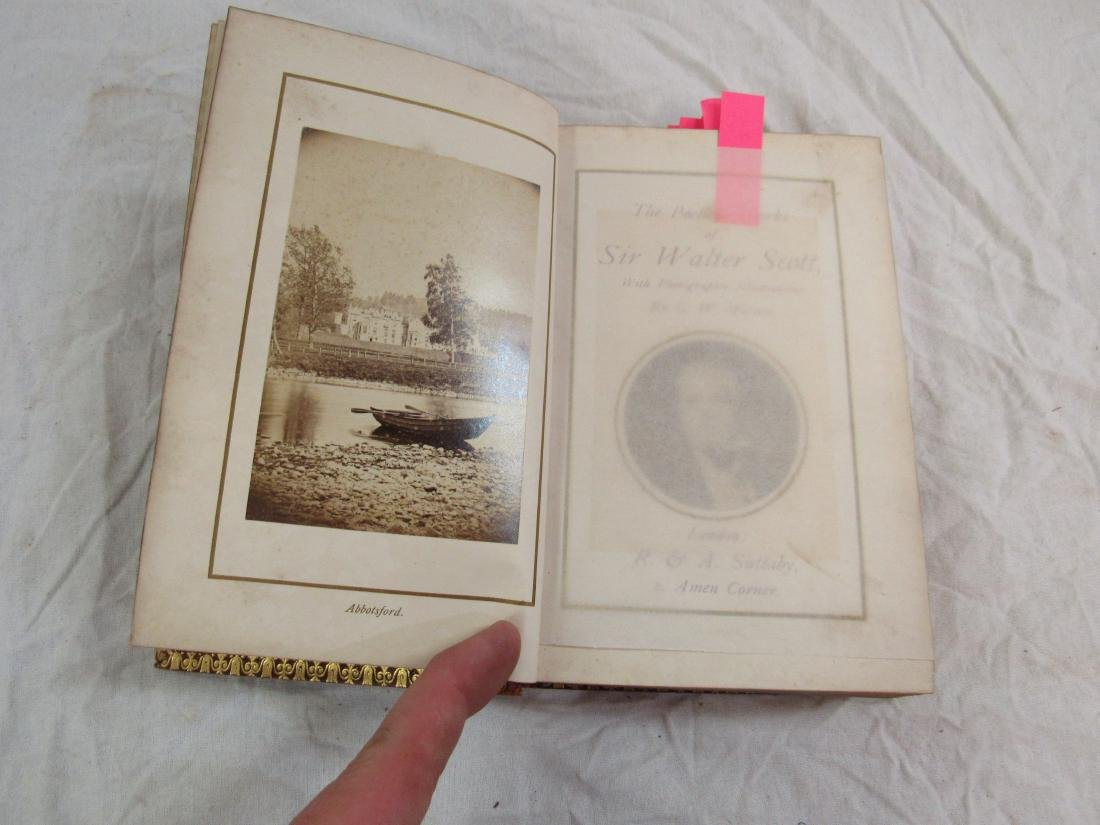 Antique Book Titled, Scott's Poetical Works of Sir - 3