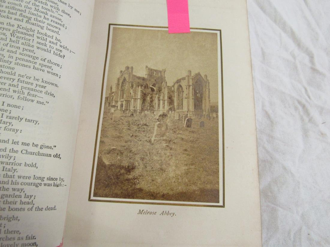 Antique Book Titled, Scott's Poetical Works of Sir - 4